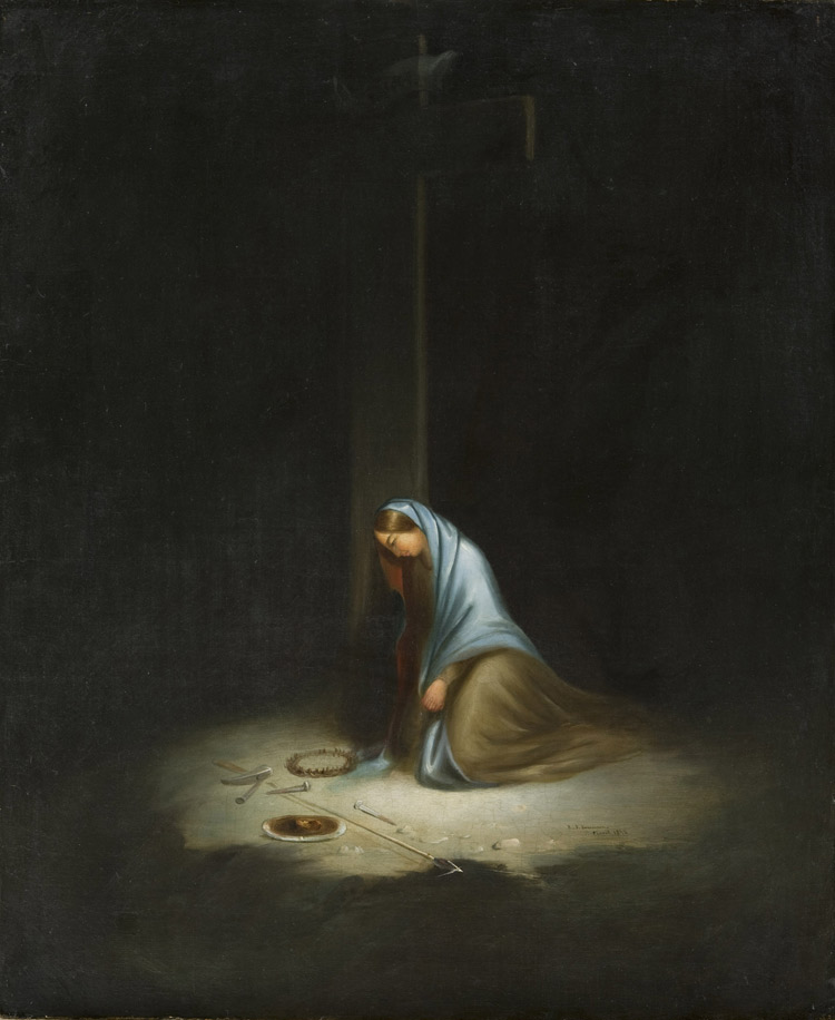 woman-at-the-foot-of-the-cross-crucifix